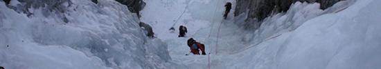 Cascades de glace